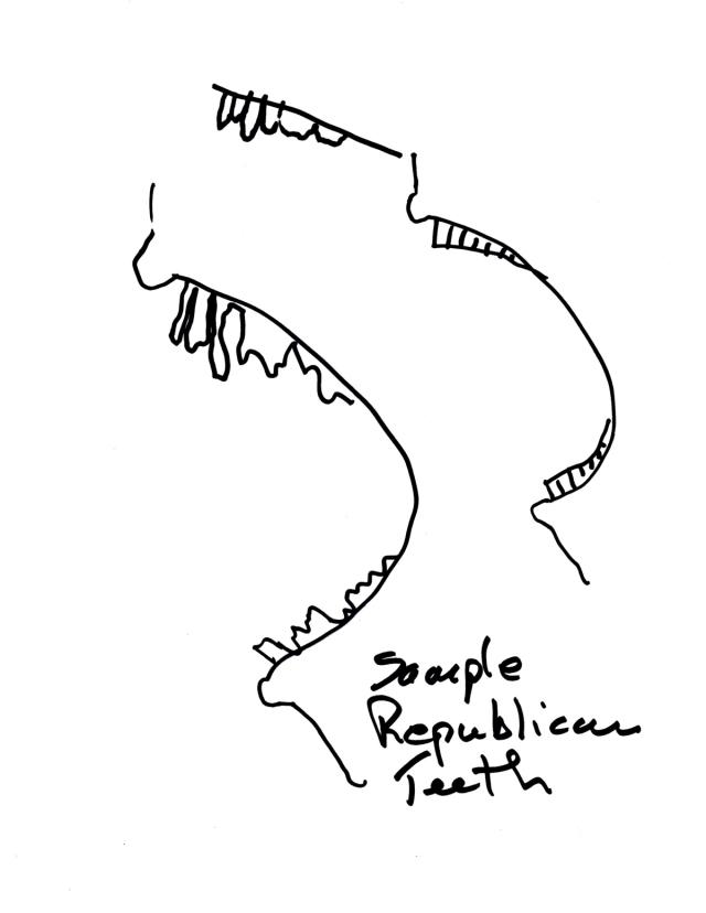 Republican teeth